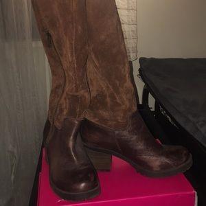 LUCKY BRAND Chestnut Boots